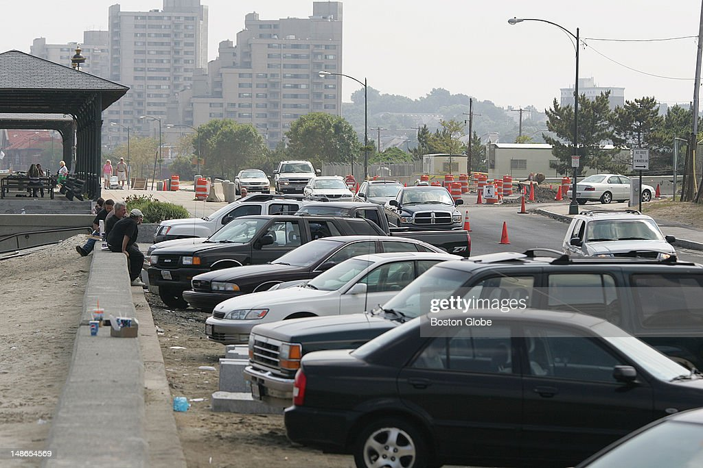 Diagonal Parking Along Revere Beach Is