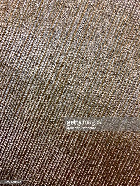 diagonally striped metallic texture - etching stock pictures, royalty-free photos & images
