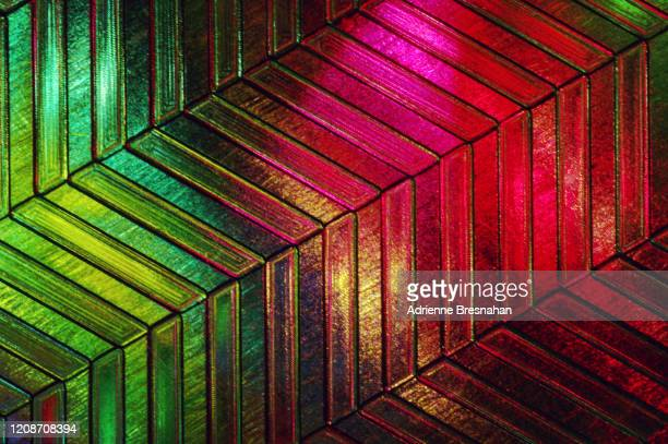 diagonally tilted chevron pattern - the slants stock pictures, royalty-free photos & images