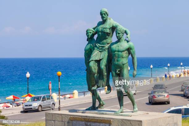 Diagoras family monument, Rhodes, Greece