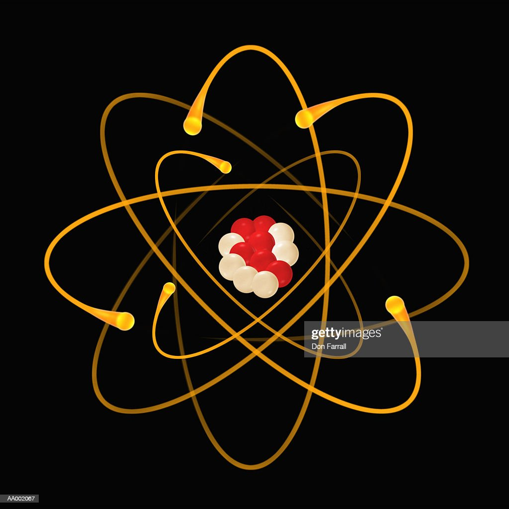 diagram of a carbon atom stock photo getty images