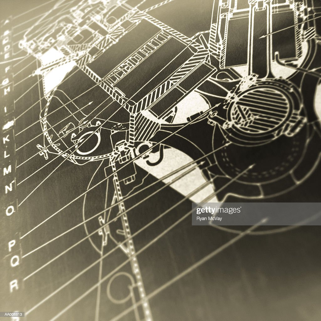 Diagram Of A Diesel Engine Stock Foto Getty Images Disel