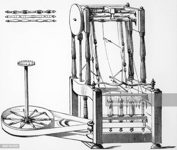Richard Arkwright Water Frame Stock Photos and Pictures | Getty Images