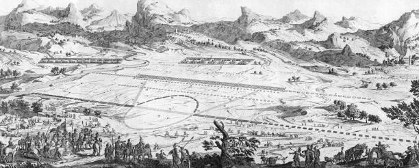 A diagrammatic representation of the Battle of Cannae...