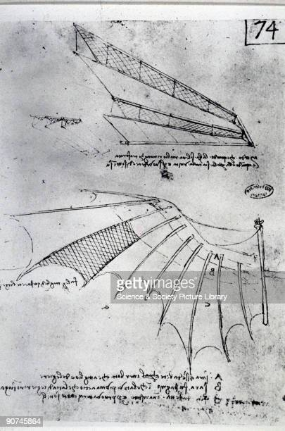 Diagrams from a notebook by Leonardo da Vinci Da Vinci was the most outstanding Italian painter sculptor architect and engineer of the Renaissance...