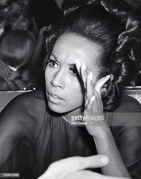 Diahann Carrol during Academy Awards Governor's Ball at Dorothy Chandler Pavilion in Los Angeles, California, United States.