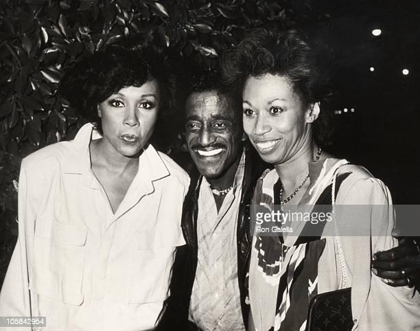 Diahann Carrol Sammy Davis Jr and Altovise Davis