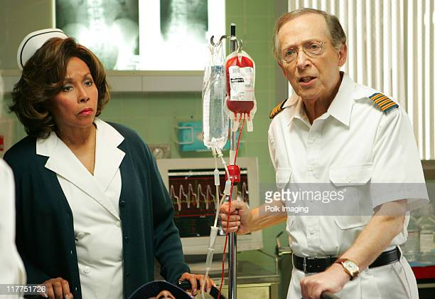 Diahann Carroll and Bernie Kopell during 2006 TV Land Awards Spoof of Grey's Anatomy at Robert Kennedy Medical Center in Los Angeles California...