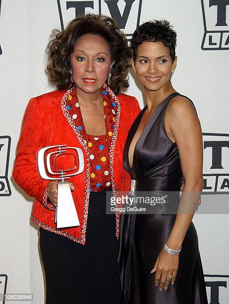 Diahann Carroll and Halle Berry during TV Land Awards: A Celebration of Classic TV - Press Room at Hollywood Palladium in Hollywood, California,...