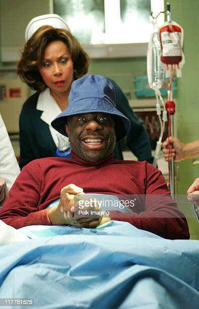 Diahann Carroll and Jimmie Walker during 2006 TV Land Awards Spoof of Grey's Anatomy at Robert Kennedy Medical Center in Los Angeles California...