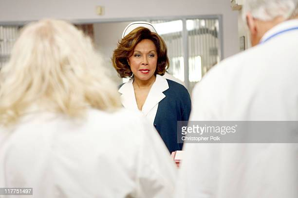 Diahann Carroll during 2006 TV Land Awards Spoof of Grey's Anatomy at Robert Kennedy Medical Center in Los Angeles California United States