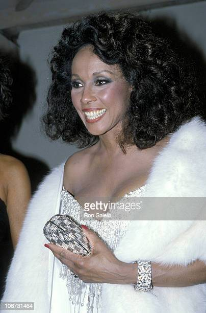 Diahann Carroll during 38th Annual Emmy Awards After Party at Spago's in Los Angeles California United States