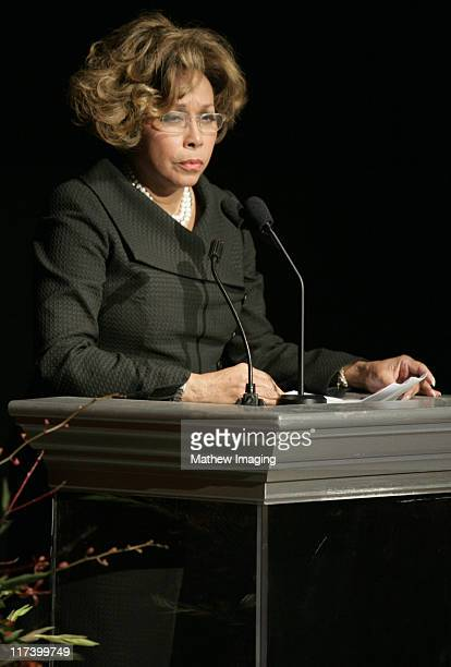 Diahann Carroll during Academy of Television Arts Sciences 60th Anniversary Inside and Reception at Leonard H Goldenson Theatre in North Hollywood...