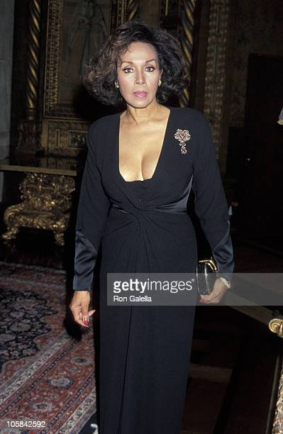 Diahann Carroll during Benefit For The Savation Army at Mara A Lago Estate in Palm Beach Florida United States