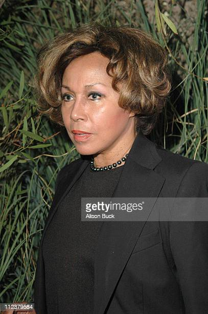 Diahann Carroll during 'Melodies and Memories' at Los Angeles Zoo in Los Angeles California United States