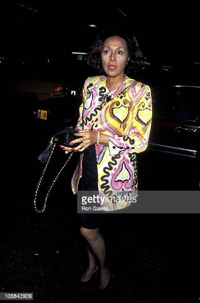 Diahann Carroll during Screening of 'Hamlet' at Balasco Theater in New York City New York United States