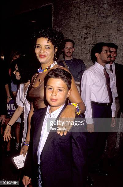 Diahnne Abbott and her son