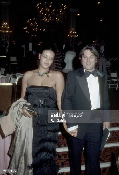 Diahnne Abbott and Robert De Niro