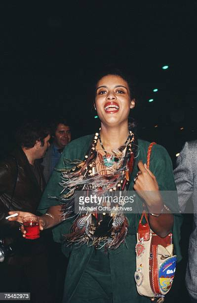Diahnne Abbott enjoys a night on the town circa the mid1970s in New York New York