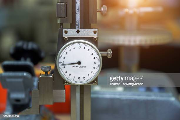 dial height gauge calibration in a laboratory