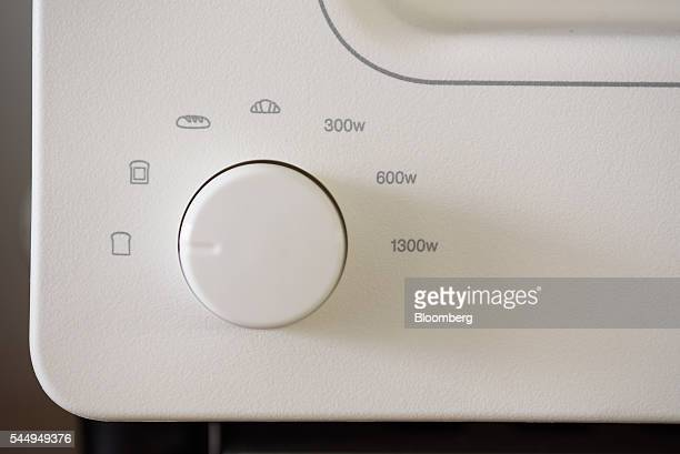 A dial is seen on a Balmuda Inc toaster in Tokyo Japan on Thursday May 19 2016 Balmuda a small appliance maker based in Tokyo's suburbs has taken an...