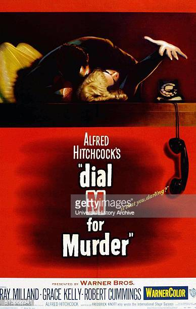 Dial M for Murder is a 1954 American crime thriller film directed by Alfred Hitchcock starring Ray Milland Grace Kelly and Robert Cummings The movie...