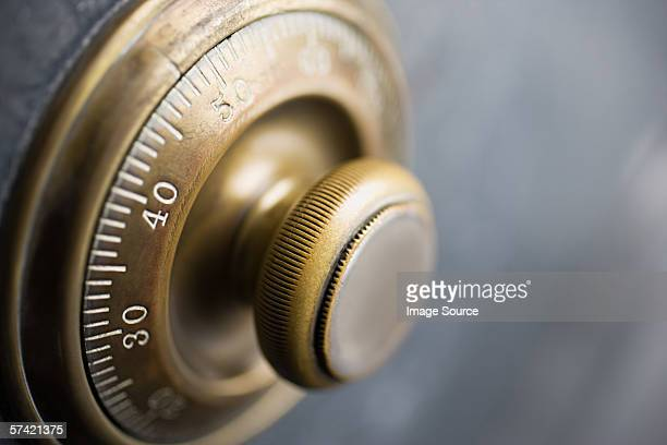 Dial on a security safe