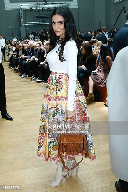 Diala Makki attends the Chloe show as part of the Paris Fashion Week Womenswear Fall/Winter 2015/2016 on March 8, 2015 in Paris, France.