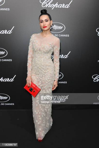 Diala Makki attends the The Chopard Trophy event during the 72nd annual Cannes Film Festival on May 20 2019 in Cannes France