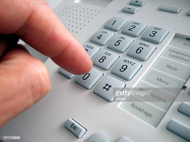 dialing telephone number
