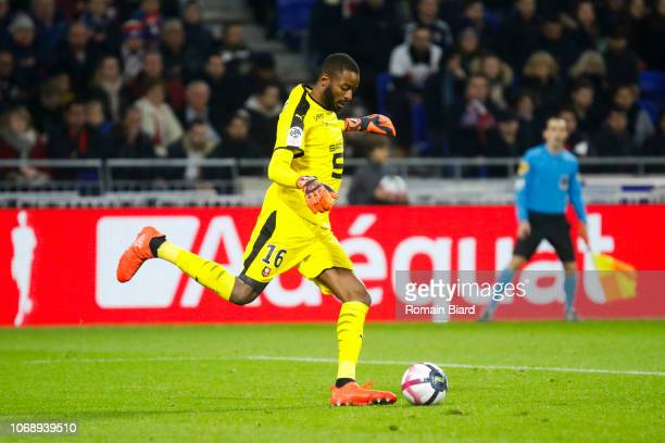 Diallo Abdoulaye of Rennes during the Ligue 1 match between Olympique Lyonnais and Stade Rennais on December 5 2018 in Lyon France