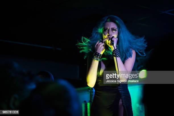 Diamante performs onstage at SideTracks Music Hall on June 27 2018 in Huntsville Alabama