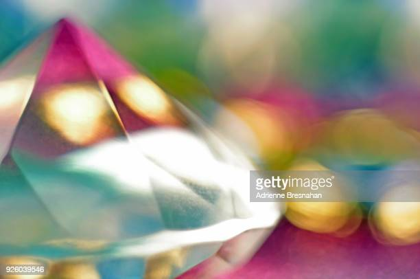 diamond and light - precious gemstone stock pictures, royalty-free photos & images