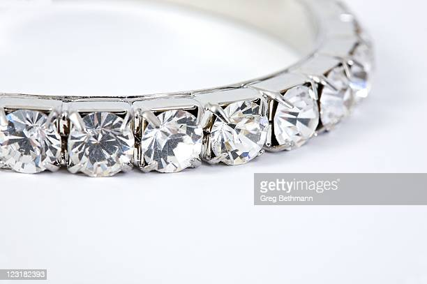 diamond bracelet - diamond necklace stock pictures, royalty-free photos & images