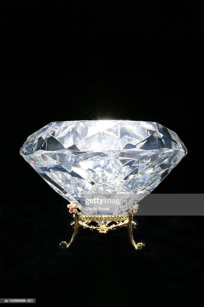 Diamond, close up : Stock Photo