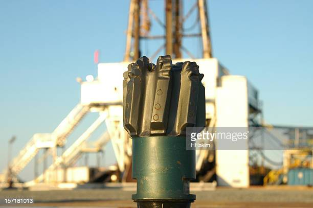 diamond drilling bit - drill bit stock photos and pictures