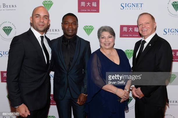 Diamond Empowerment Fund Board of Director Deputy Managing Director of Okavango Diamond Company Marcus Ter Haar actor David Oyelowo Diamond...