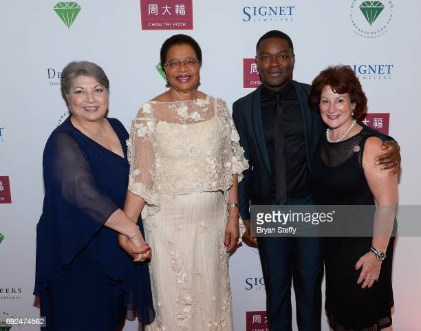Diamond Empowerment Fund Board of Director President Gemological Institute of America Anna Martin humanitarian Graca Machel actor David Oyelowo and...