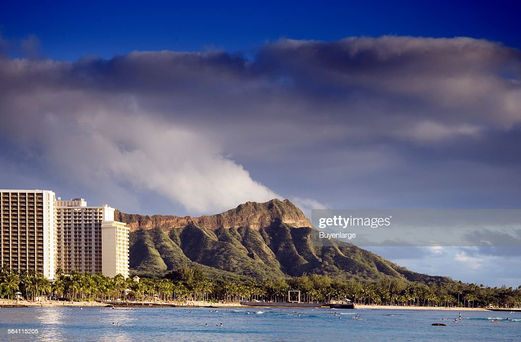 Diamond Head, Honolulu, Hawaii : News Photo