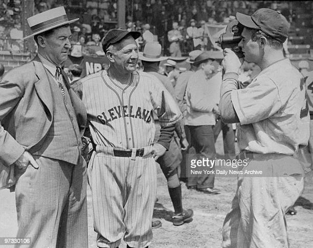 Diamond idols of their day make good stars for Johnny Grover Cleveland Alexander and Tris Speaker at baseball's centennial