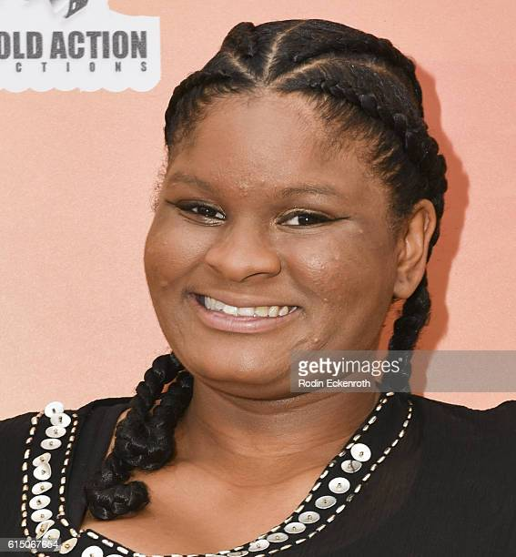 Diamond in the RAW Thrill of Victory Winner Chauntel Browden attends The Action Icon Awards at Sheraton Universal on October 16 2016 in Universal...