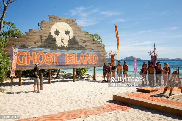 A Diamond In The Rough Jeff Probst addresses the Malolo and Naviti Tribe on the fifth episode of Survivor Ghost Island airing Wednesday March 21 on...