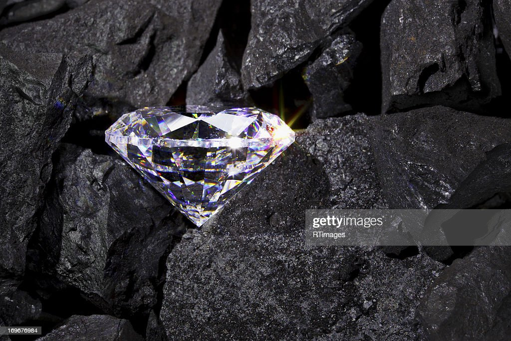 Diamond in the rough : Stock Photo