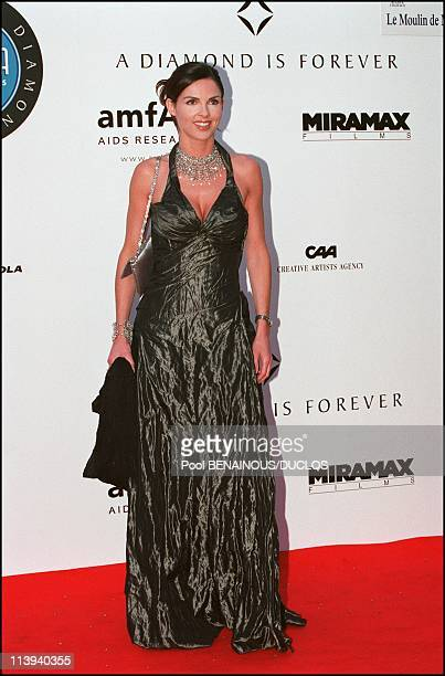 A diamond is foreverCinema against AIDS 2001 to benefit the American Foundation for AIDS Research In Mougins France On May 17 2001Caroline Barclay