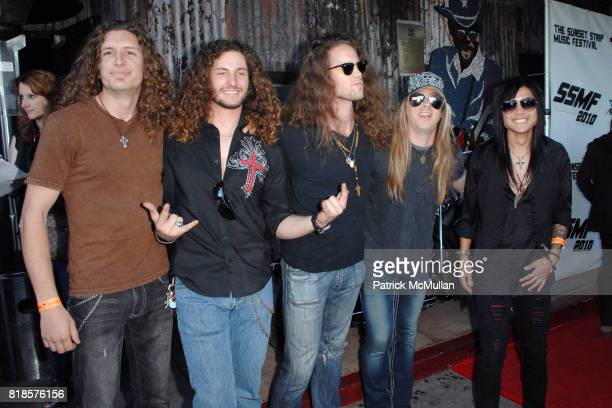 Diamond Lane attends THE 3RD ANNUAL SUNSET STRIP MUSIC FESTIVAL LAUNCHES WITH A TRIBUTE TO SLASH at House Of Blues on August 26 2010 in West...