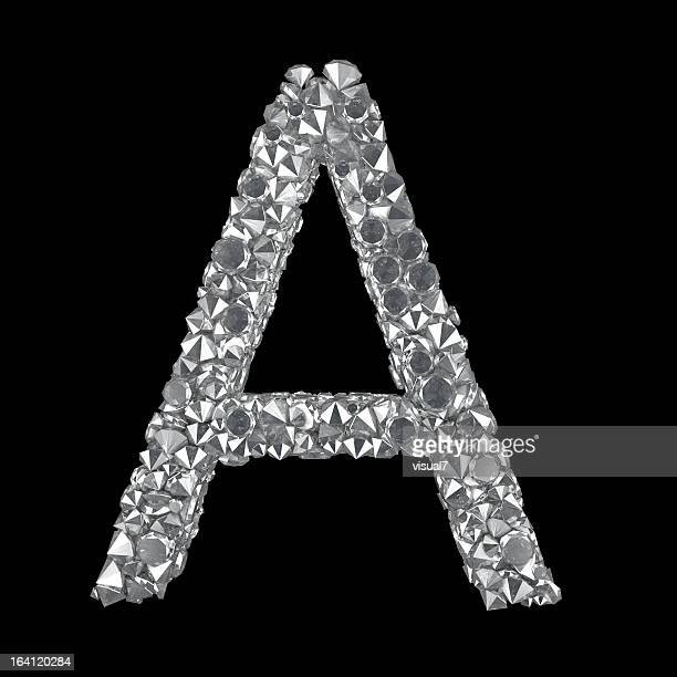 Diamond Letter A