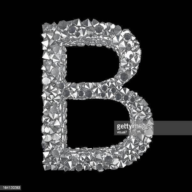 Diamond Letter B