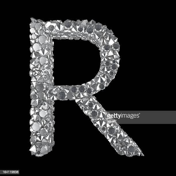 Diamond Letter R