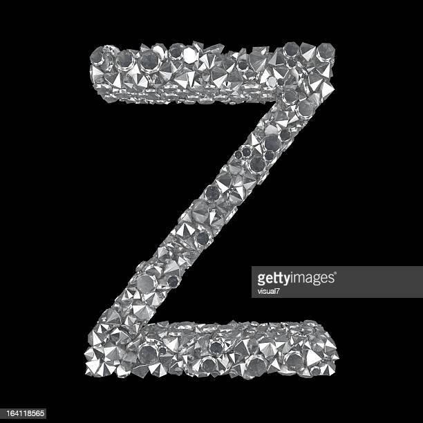 Diamond Lettre Z
