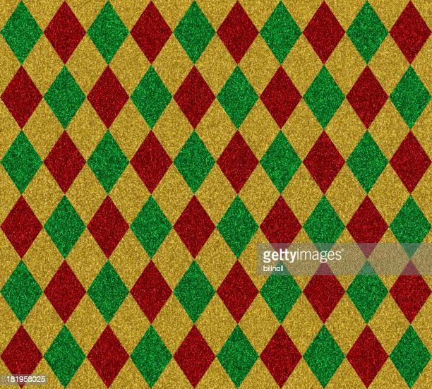 diamond pattern glitter paper